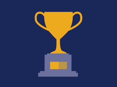 image of trophy representing club incentive program